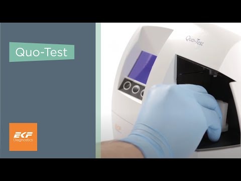 Quo-Test HbA1c Analyser
