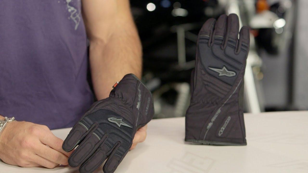 Alpinestars Transition Motorcycle Motorcycle Glove Black Cool Gray