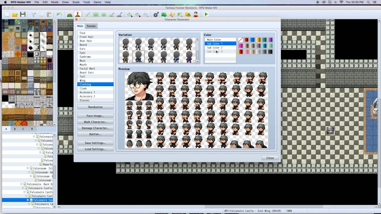 RPG Maker MV - Iconic Characters Made With the Character