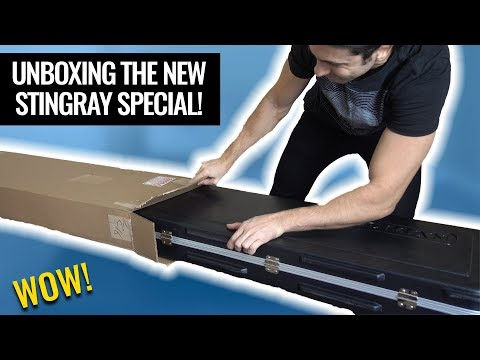 Ernie Ball Musicman Stingray Special Bass - Unboxing & First Impressions