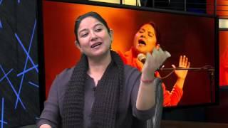 Sufi singer Zila Khan with Ashok Vyas, Community News, ITV Feb 2016