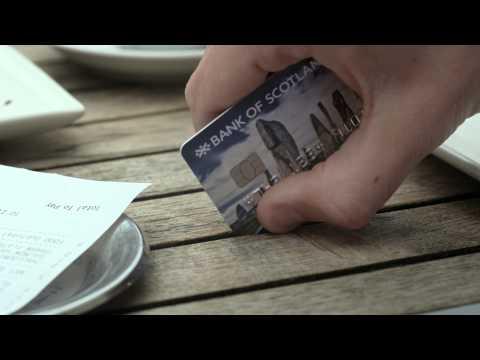 Bank of Scotland Advert - Save the Change