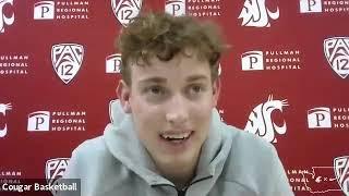 WSU MBB: Ryan Rapp Colorado Postgame 1/23/21