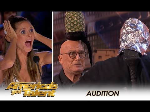 LEAK: Aaron Crow Nearly KILLS Howie Mandel In EXTREME Danger Act! | America's Got Talent 2018
