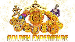 TRUE GOLDEN EXPERIENCE: THE FINAL GOLD TURBO HYPERFLUX BIG BANG GENESIS BEYBLADE BURST GT RISE