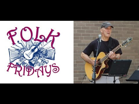 Folk Fridays at Hartford Public Library - Dave Costa