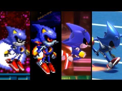 Evolution Of Metal Sonic (1993- 2018)