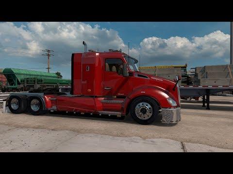 American Truck Simulator Kenworth T680 Tom Dooley