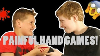 playing deadly hand games