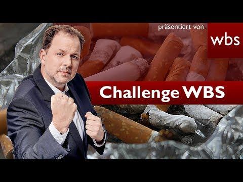 Kann mein Chef mir Raucherpausen vorschreiben? | Challenge WBS Rechtsanwalt Christian Solmecke