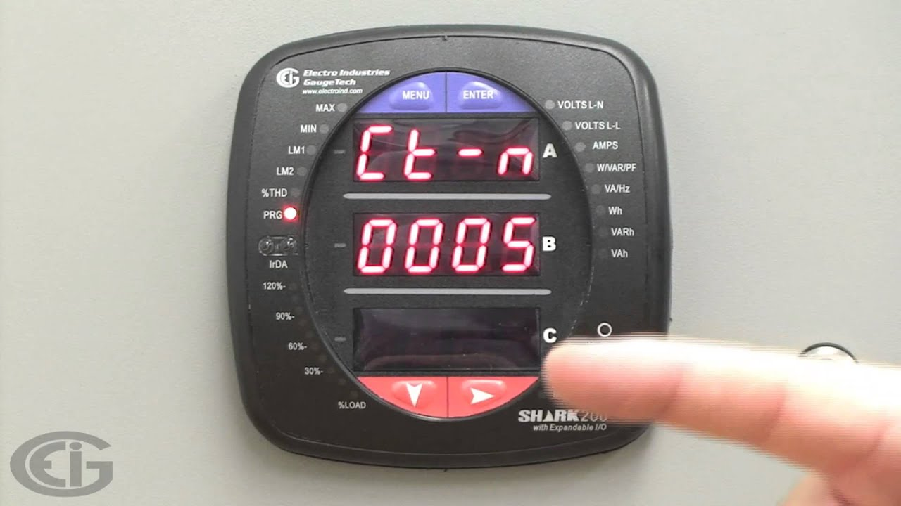 Shark 100 Meter : Eig shark meter family front panel interface youtube