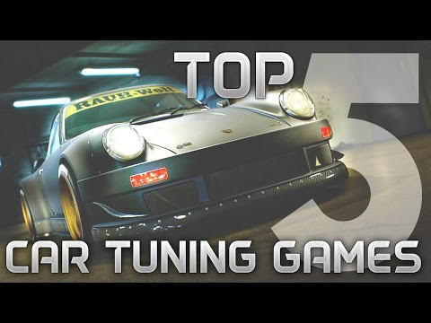 Best Car Tuning Customization Games – My TOP 5 | PC XBOX PS |