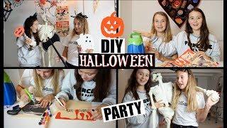 DIY HALLOWEEN PARTY! | HALLOWEEN DECORATIE EN ZELF UITNODIGINGEN MAKEN!