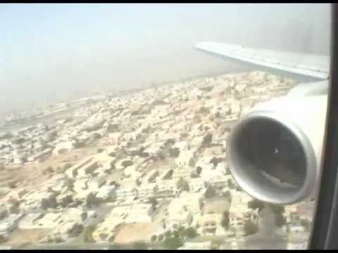 Emirates Boeing 777 From Amman to Dubai in 10 minutes