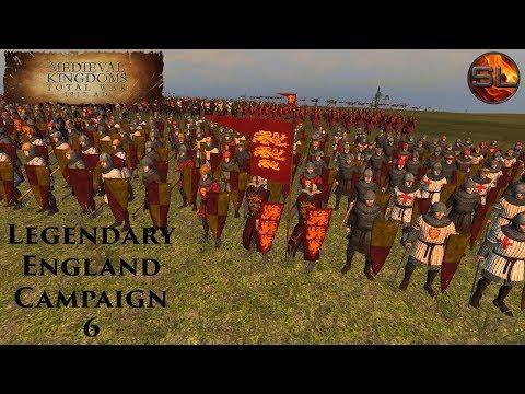 Total War: Atilla - Anno Domini 1080 - Medieval Kingdoms: Legendary England Campaign #6