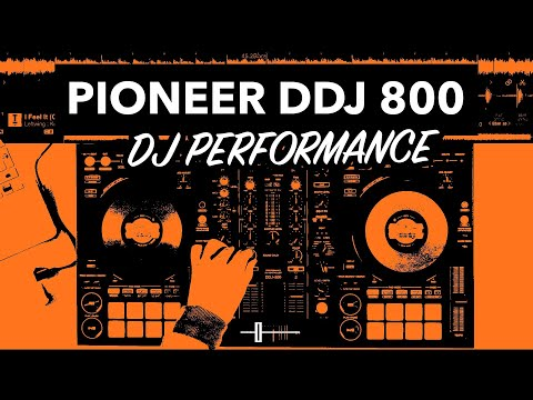 Pioneer DDJ 800 Performance - House DJ Mix