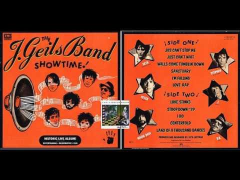 J. GEILS BAND - Centerfold (live audio, 1982)