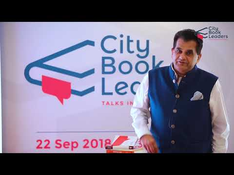City Book Leaders Amitabh Kant Branding India