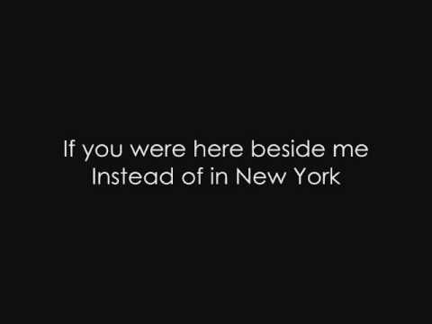 Snow Patrol - New York (with Lyrics)