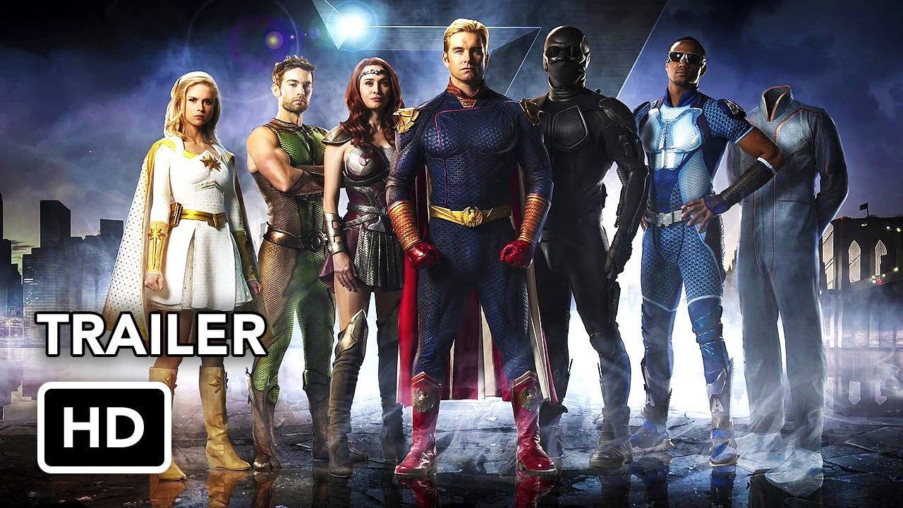 The Boys (Amazon) Trailer HD - Superhero series