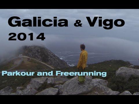 Galicia & Vigo 2014 Parkour and Freerunning