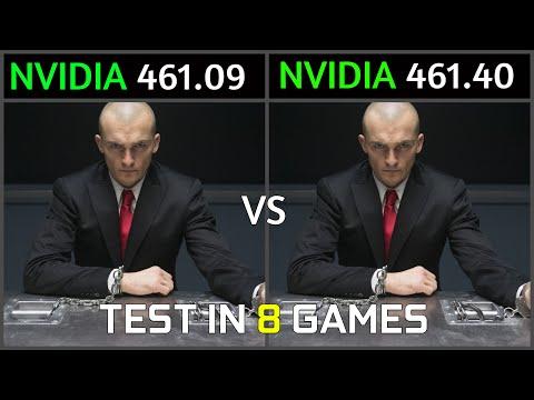 Nvidia Drivers 461.09
