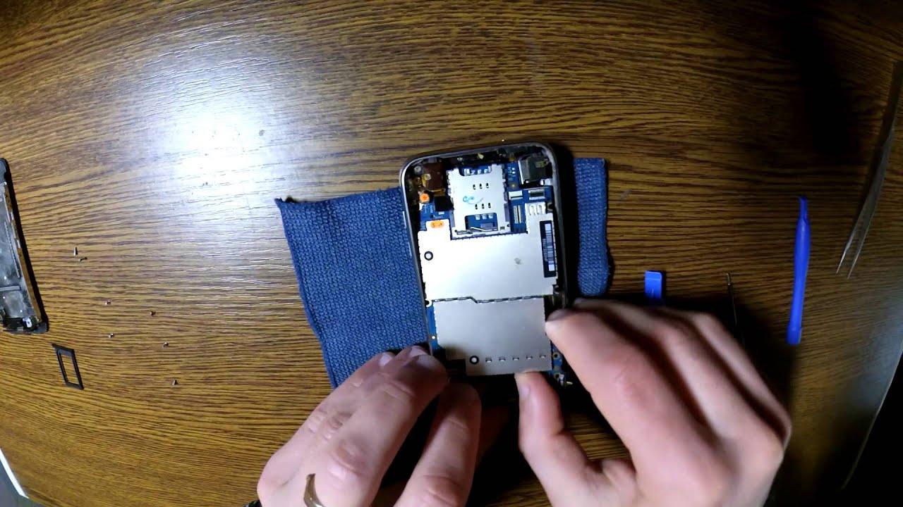 инструкция замена корпуса iphone 3