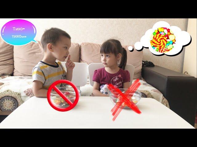 Испытание сладостями//Challenge//Kids Like Ludmila