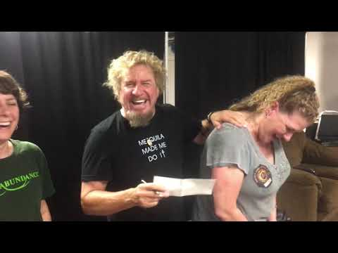 Sammy Hagar donates to Philadelphia charity