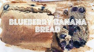 THE BEST BLUEBERRY BANANA BREAD RECIPE  Vegan, Oil Free & EASY