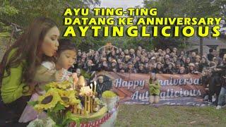 Ayu Ting Ting Datang Ke Anniversary AYTINGLICIOUS