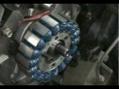 Polaris ignition upgrade and flywheel removal