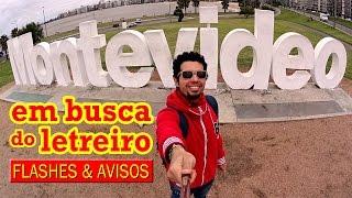 """Vlog de viagem no Uruguai: foto no letreiro de Montevideo(Vídeo rápido só pra mandar um """"salve"""" direto de Montevidéu, Uruguai. Mais informações: Blog - http://www.viajanteindependente.com Instagram ..., 2015-10-16T12:02:45.000Z)"""