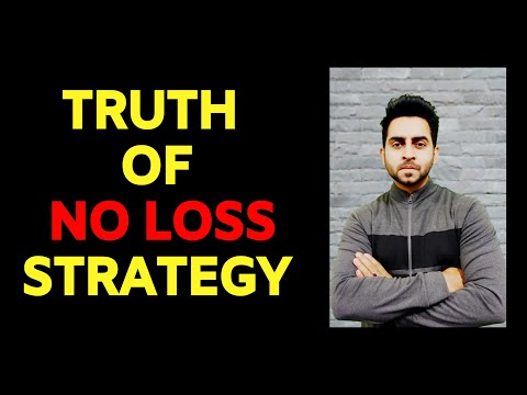 Stock Market -No Loss Strategy In Trading ?? -Truth Vs Hype -Super Trader Lakshya