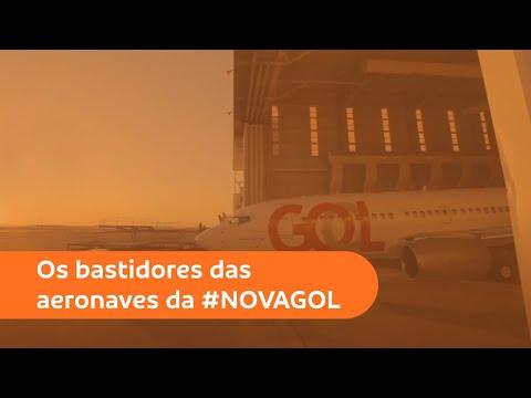 Os bastidores das aeronaves da #NOVAGOL