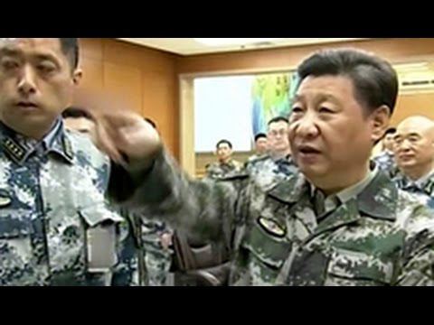 Xi Jinping takes commander in chief military title