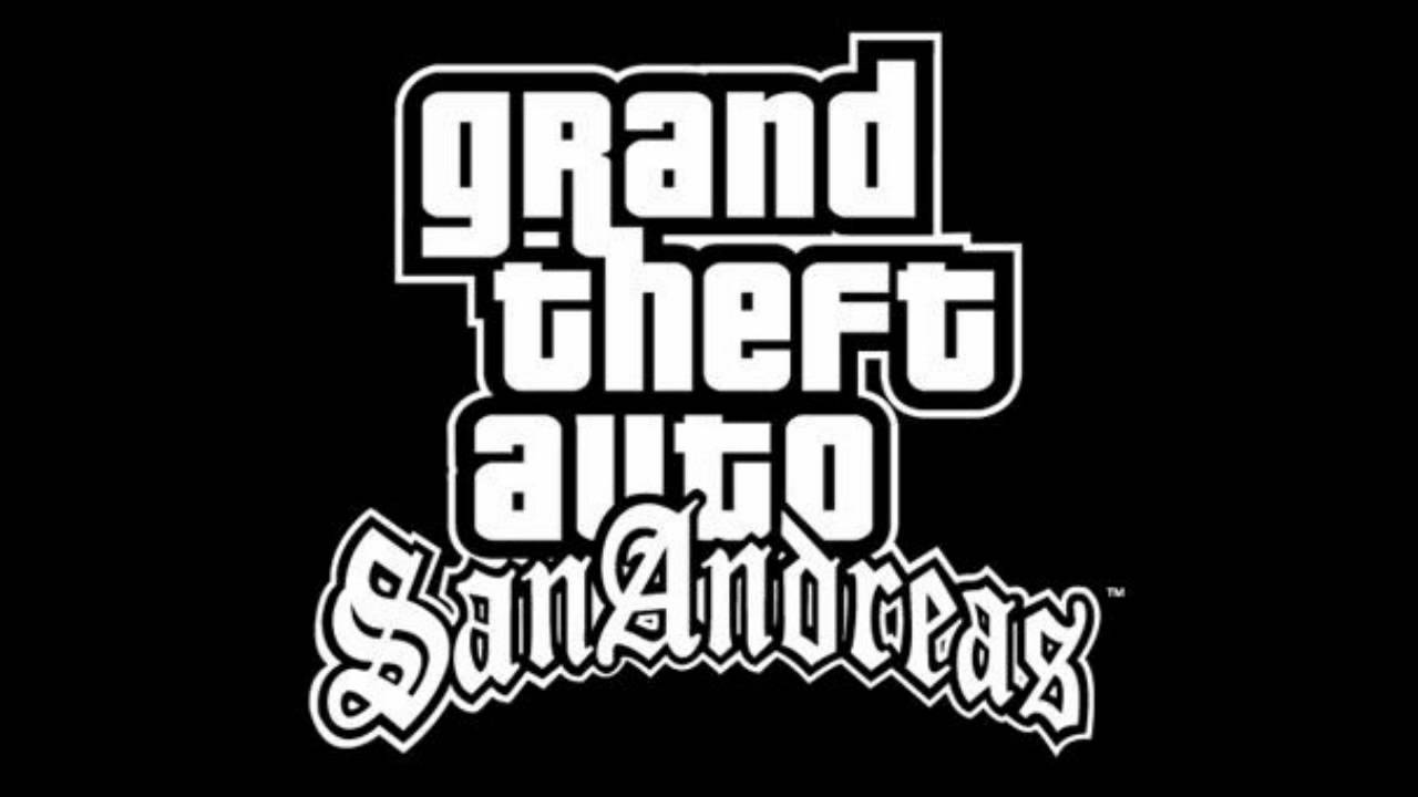 Wallpaper Gta San Andreas Hd Gta San Andreas Logo Youtube