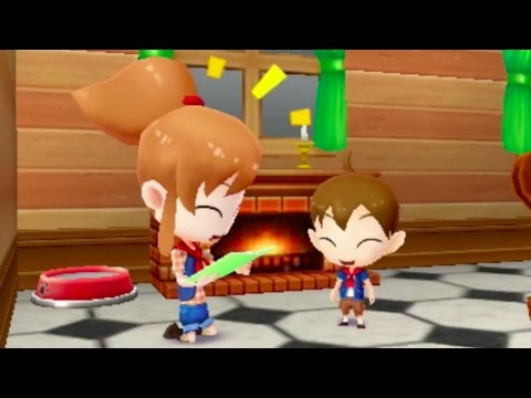 Harvest Moon 3D: The Lost Valley - Launch Trailer