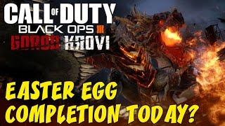 Black Ops 3 Zombies: GOROD KROVI! ★ Easter Egg BOSS BATTLE 1st Attempt!