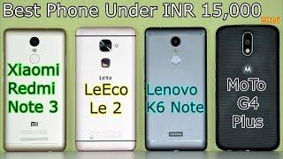 Xiaomi Redmi Note 3 VS Lenovo K6 Note VS LeEco Le 2 VS VS MoTo G4 Plus: Full In-Depth Comparison