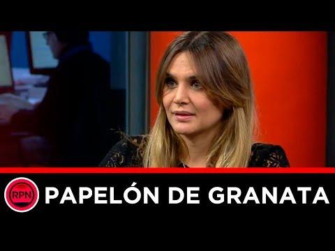 PAPELÓN DE GRANATA: Le preguntan sobre política, no responde y corta la comunicación