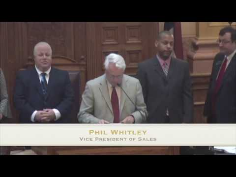 TydenBrooks Recognized by the Georgia General Assembly
