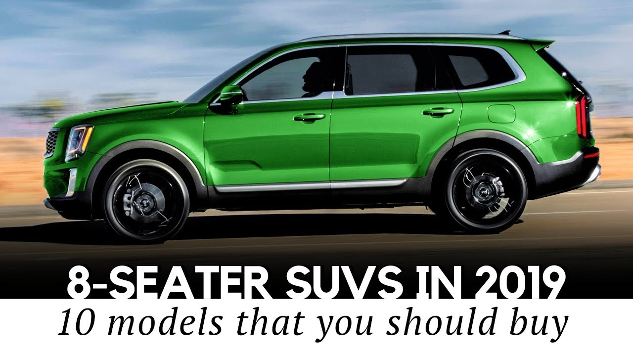Top 10 Spacious 8 Seaters In 2019 New And All Time Favorite Suvs Youtube