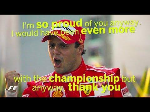 Felipe Massa Career Highlights: Team Radio Clips