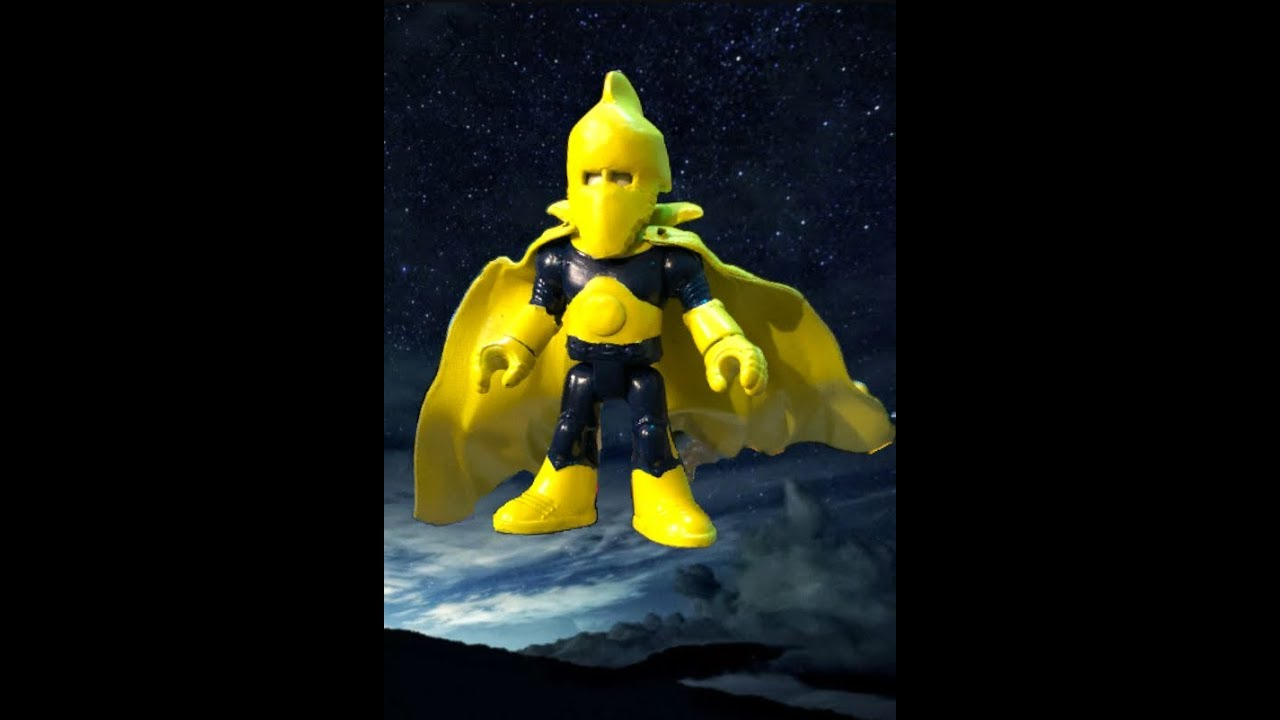 New Custom Fisher Price Imaginext DR. FATE from Young Justice - YouTube