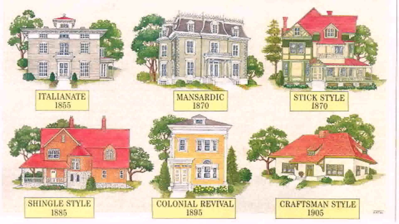 House styles 1910 youtube for Home style guide