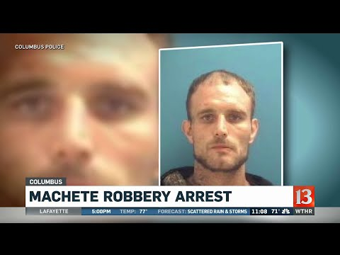 Columbua Machete Arrest