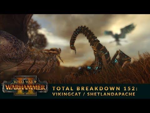 Total Breakdown 152 (WH2) - Tomb Kings vs High Elves - Warhammer 2 Tournament Online Battle