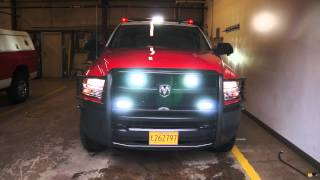 prvs install soundoff signal package on a 2015 ram 2500