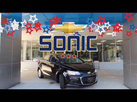 Here's The Smallest Chevrolet Sedan - The 2018 Chevy Sonic LT @ Marchant Chevy | REVIEW
